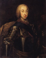 Алексей Петрович Антропов  Portrait of Grand Duke Peter Fedotovich (later Peter III),