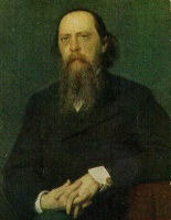 Иван Николаевич Крамской  Portrait of the Author Mikhail Saltykov Shchedrin