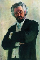 Илья Ефимович Репин  Portrait of the Chello Player Alexander Verzhbilovich
